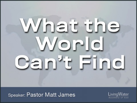 What the World Can't Find
